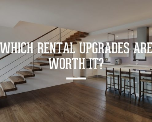 Which Rental Upgrades are Worth It