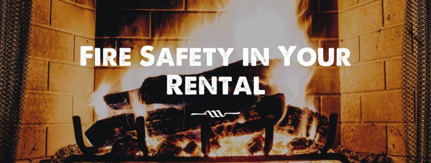 Fire Safety in Your Rental